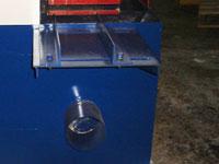 Многопильный станок ДК-80, удаление отходов